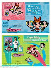 POWERPUFF GIRLS BIRTHDAY GREETING CARD SELECTION ~ Party Supplies