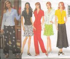 Butterick 4878 Misses'/Miss Petite Top, Skirt and Pants  Sewing Pattern