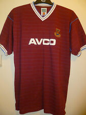 Bnwt West Ham United Home Retro Football Shirt 1986