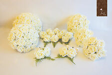 wedding bouquet posy ivory roses crystal detail every size 1 listing