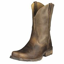 Ariat Rambler Mens Cowboy Boot Earth Brown Bomber 10002317 35829