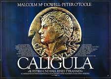 CALIGULA Movie Poster Sex Erotica Malcom McDowell Peter O'Toole