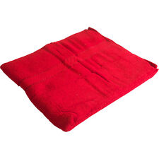 4 X 100% EGYPTIAN COTTON HAND BATH SHEET TOWELS 500 GRAM LUXURY FACE TOWEL RED