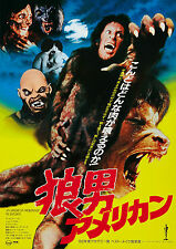 AN AMERICAN WEREWOLF IN LONDON Movie Poster RARE Version Horror Classic