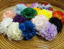"100 Carnation 5"" Artificial Silk Flower Picks - Available in Multiple Colors"