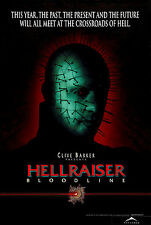 HELLRAISER BLOODLINE Movie Poster Pinhead Clive Barker