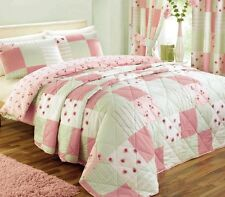 Pink Bedding / Bed Linen, Duvet Covers, Patchwork Quilts or Bedroom Curtains