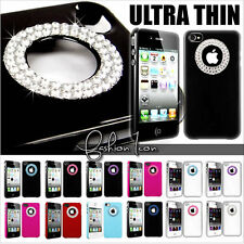 New Diamante Diamond Bling Rhinestone Crystal Hard Case Cover For iPhone 4 4S 4G