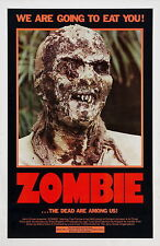 ZOMBI 2 Movie Poster RARE Zombies