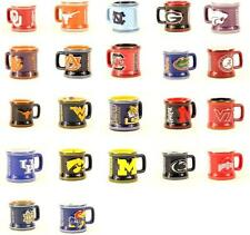NCAA/COLLEGIATE Shot Glass Mini Mugs with handles -- You Choose Your Team!