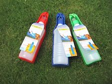 Pet Dog Feeding PORTABLE Travel WATER BOTTLE Tray 500ml and 750ml