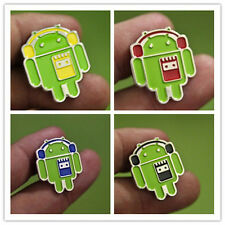 Badge Android Pin Brooch Limited with Headset Google Pin Badge Collection