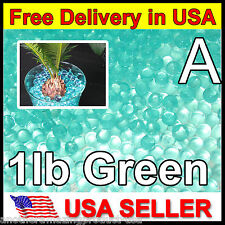 Green 1 LB Water Marbles Crystal Soil Gel Balls Plants Wedding Centerpiece Teal