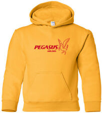 Pegasus Airlines Retro Logo Turkish Airline HOODY