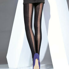 "Sexy Black Opaque Tights ""Viper"" 50 Denier"