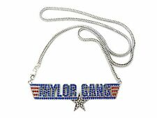 """NEW ICED OUT WIZ KHALIFA TAYLOR GANG PENDANT & 36"""" FRANCO CHAIN NECKLACE - MHP15"""