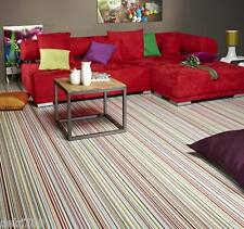 STRIPE PATTERNED VINYL FLOORING - 4M WIDTHS KITCHENS LIVING AREAS UTILITY ROOM