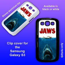 Jaws Movie Poster Samsung Galaxy S3 cover clip on case