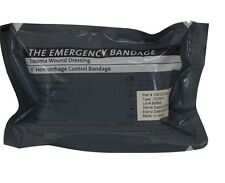"The Emergency Bandage -Trauma Wound Dressing , 6"" Hemorrhage Control Bandage"