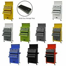 LARGE TOOL CHEST TOP CABINET TOP BOX AND ROLLCAB BOX US BALL BEARING SlIDES