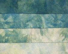 """Aquamarine"" -  hand dyed rug hooking wool fabric  (1) Fat Quarter 100% Wool"