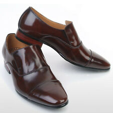 New Gentle Mens Brown Leather Dress Loafers Shoes Novamall