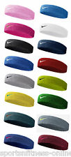 NEW NIKE SWOOSH TENNIS,SQUASH,BADMINTON,GYM HEADBANDS SWEAT BANDS