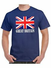 Union Jack T Shirt - Choice of Red White and Blue or Pink Union Jack Flag