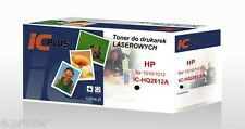 BLACK LASER TONER CARTRIDGE COMPATIBLE WITH HP Q2612A 12A