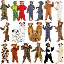 Children's Kids Boys Girls Zoo Jungle Farm Animal Fancy Dress Up Costume Outfit
