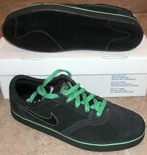 NEW NIKE SB VULC ROD V-ROD Skateboarding MENS Paul Rodriguez Black Green NIB NR