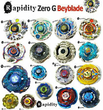 Beyblades Single Metal Fusion fury ZERO-G Top & tips Lot Set Style collect NEW