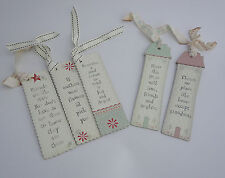 EAST OF INDIA BOOKMARKS QUALITY BOARD WITH MESSAGE AND RIBBON