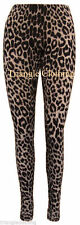 Ladies Womens Leopard Print Stretch Leggings Plus Size Jeggings Trousers UK 8-26