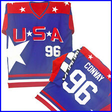 CHARLIE CONWAY #96 TEAM USA D2 HOCKEY JERSEY Pick a Size