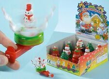 Musical Christmas Spinning Novelty Toy - Stocking Filler/ Christmas Fun (PM265)