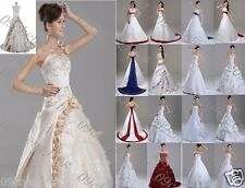 New stock Wedding Dress/ Bridesmaid/Gown Size* 6 8 10 12 14 16 18