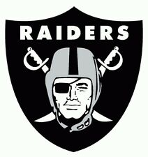 NFL OAKLAND RAIDERS vinyl graphic 7 year outside vinyl decal sticker