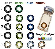 Pure Color Contact Lenses 15 COLORS!! Best for DARK eyes!!