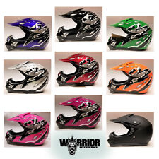 Motocross Helmet - Kids, Child, Youth, Various colours, XS,S,M,L,XL , Aust Std