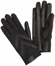 Isotoner Women's Stretch Classics Water Repellent Unlined Driving Glove