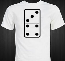 DOMINO ! - lucky seven - unique tile game - board game T-shirt