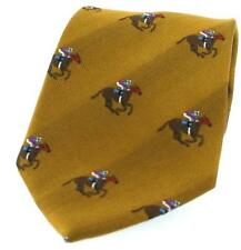 Soprano Country Woven Silk Ties Horse and Rider