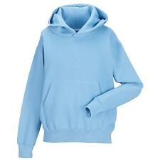 New JERZEES SCHOOLGEAR Kids Hooded Sweatshirt in 8 colours 3-12 years