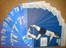 Tranmere Rover's Home Programme's 1973-1977 Div 3
