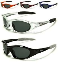 NEW X-LOOP SUNGLASSES SPORTS BLACK WRAP MENS LADIES POLARIZED DRIVING FISHING