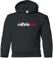 Nova Air Vintage Logo Mexican Airline Hooded Sweatshirt HOODY