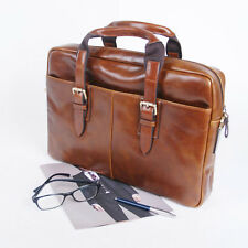 BELIVUS SSB035 Lux briefcase/ high quality buffalo leather bag/ Browns_M