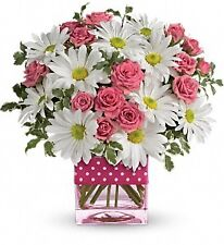 Teleflora  Polka Dots and Posies. Fresh Flower Delivery by Florist