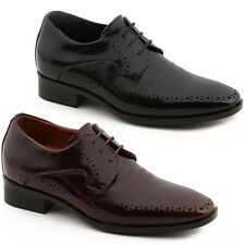 New Mens Elevator Taller Height Incresing Dress Formal Leather Shoes